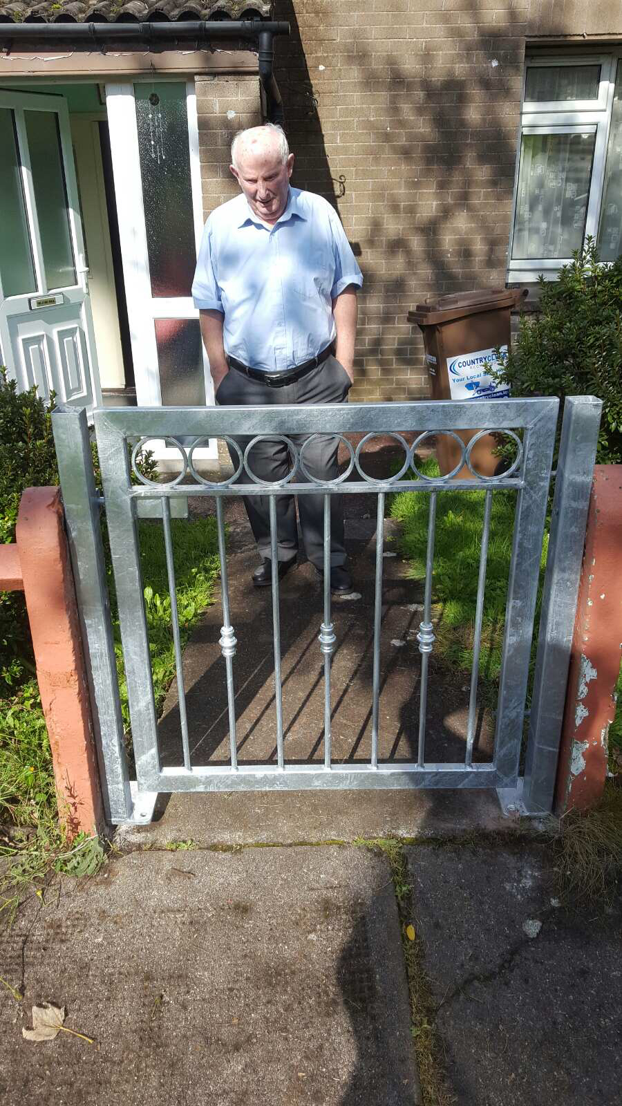 Wrought Iron Side Gate. WISG-22