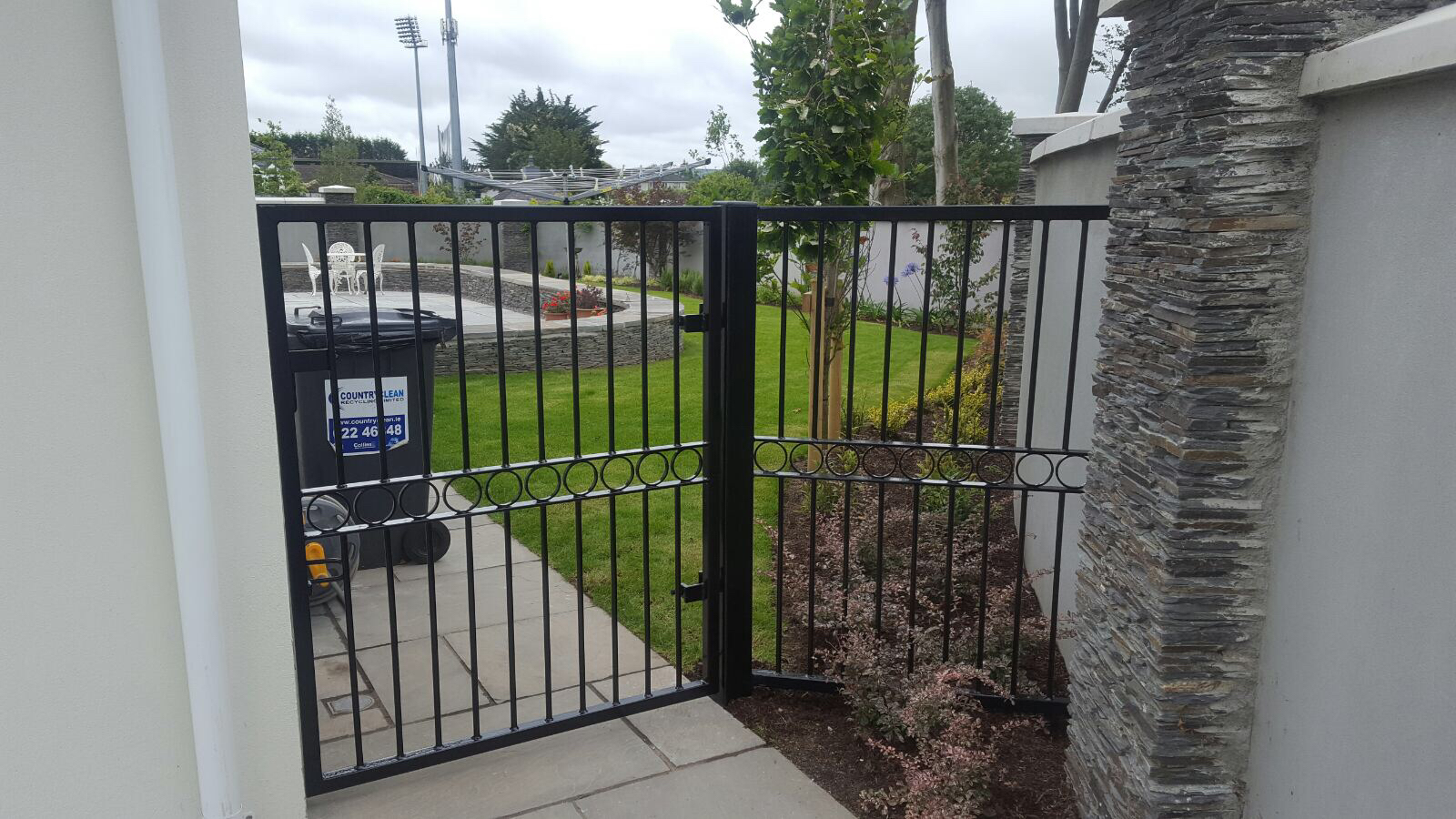 Wrought Iron Side Gate. WISG-24