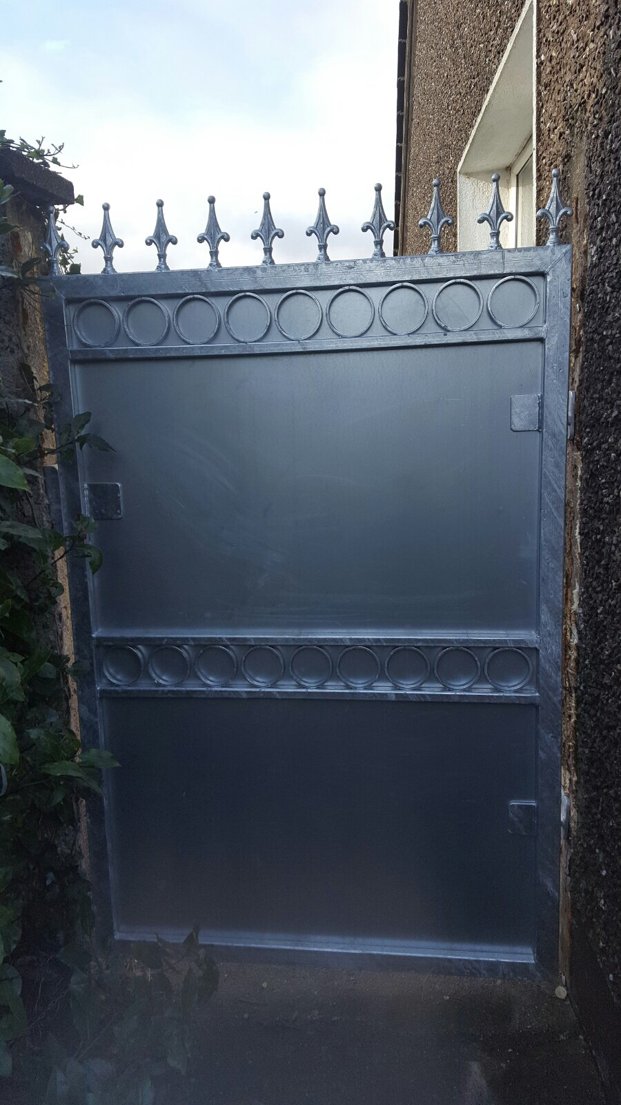 Wrought Iron Side Gate. WISG-26