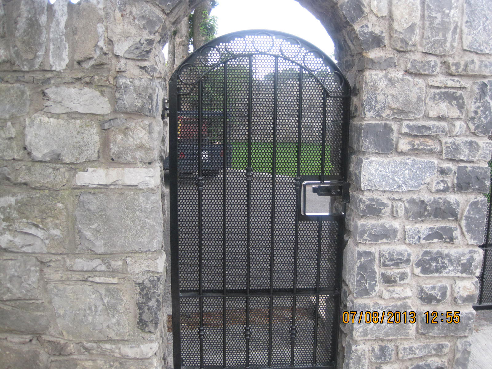 Wrought Iron Side Gate 10