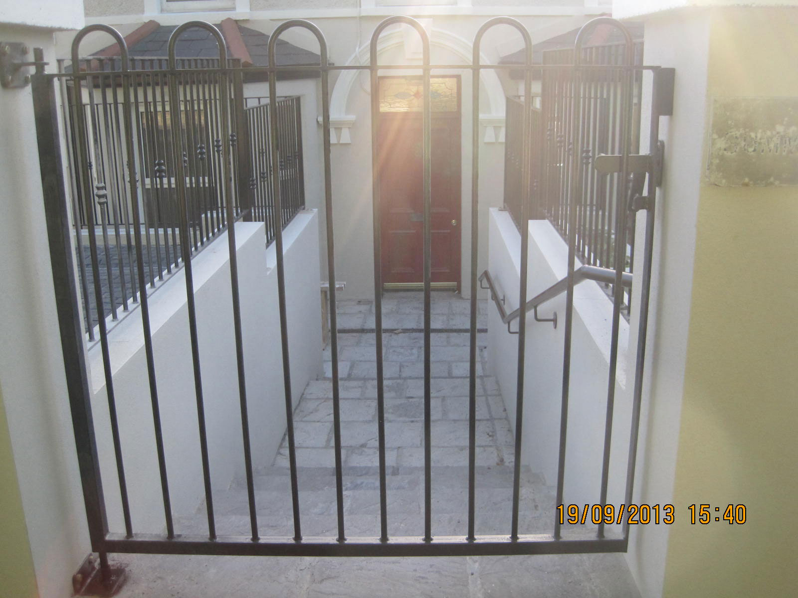 Wrought Iron Side Gate 11