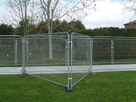 Hire of Temporary Fencing