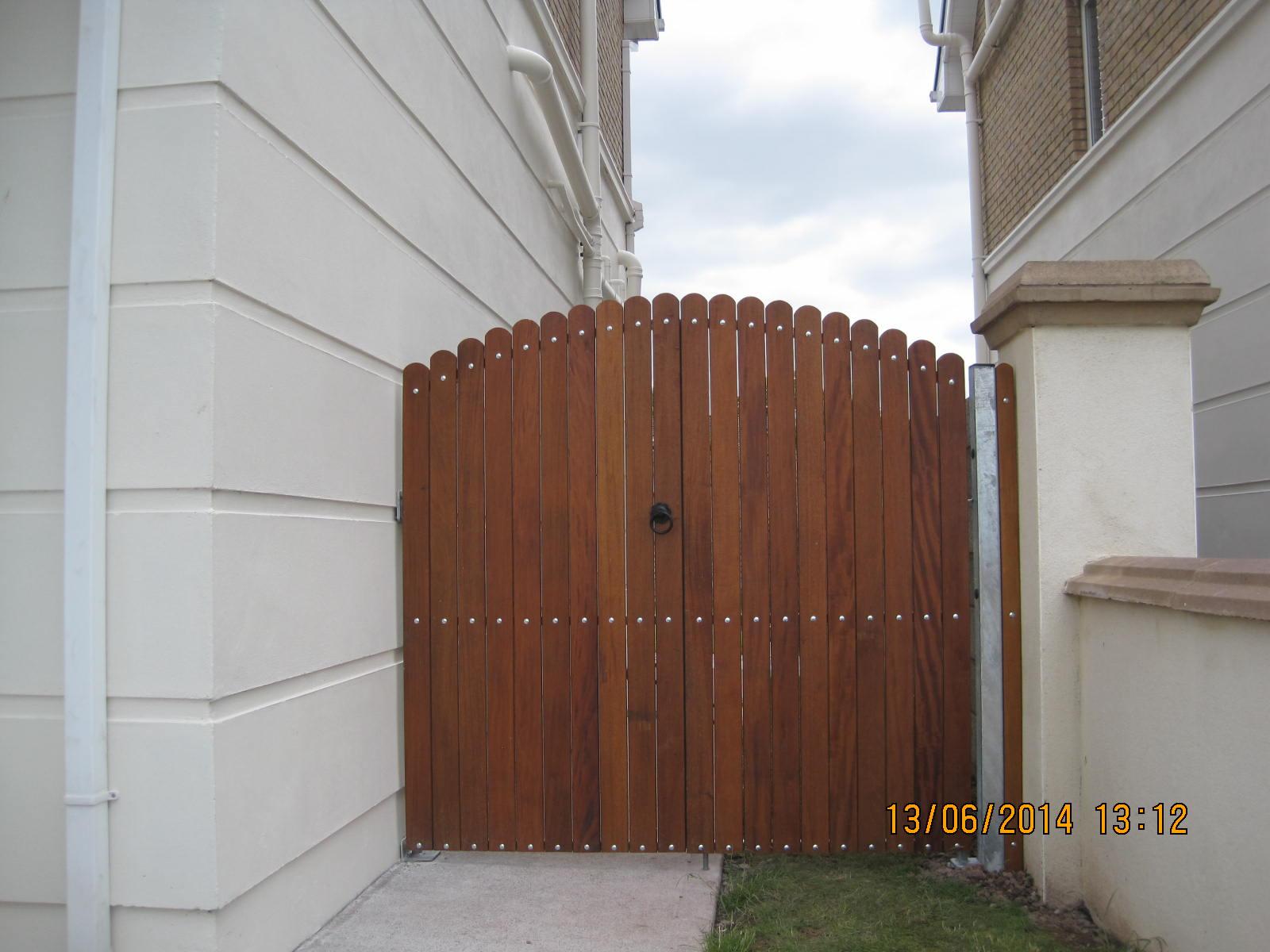 Side Teak gates TSG-18