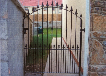 Wrought Iron Side Gate. WISG-21