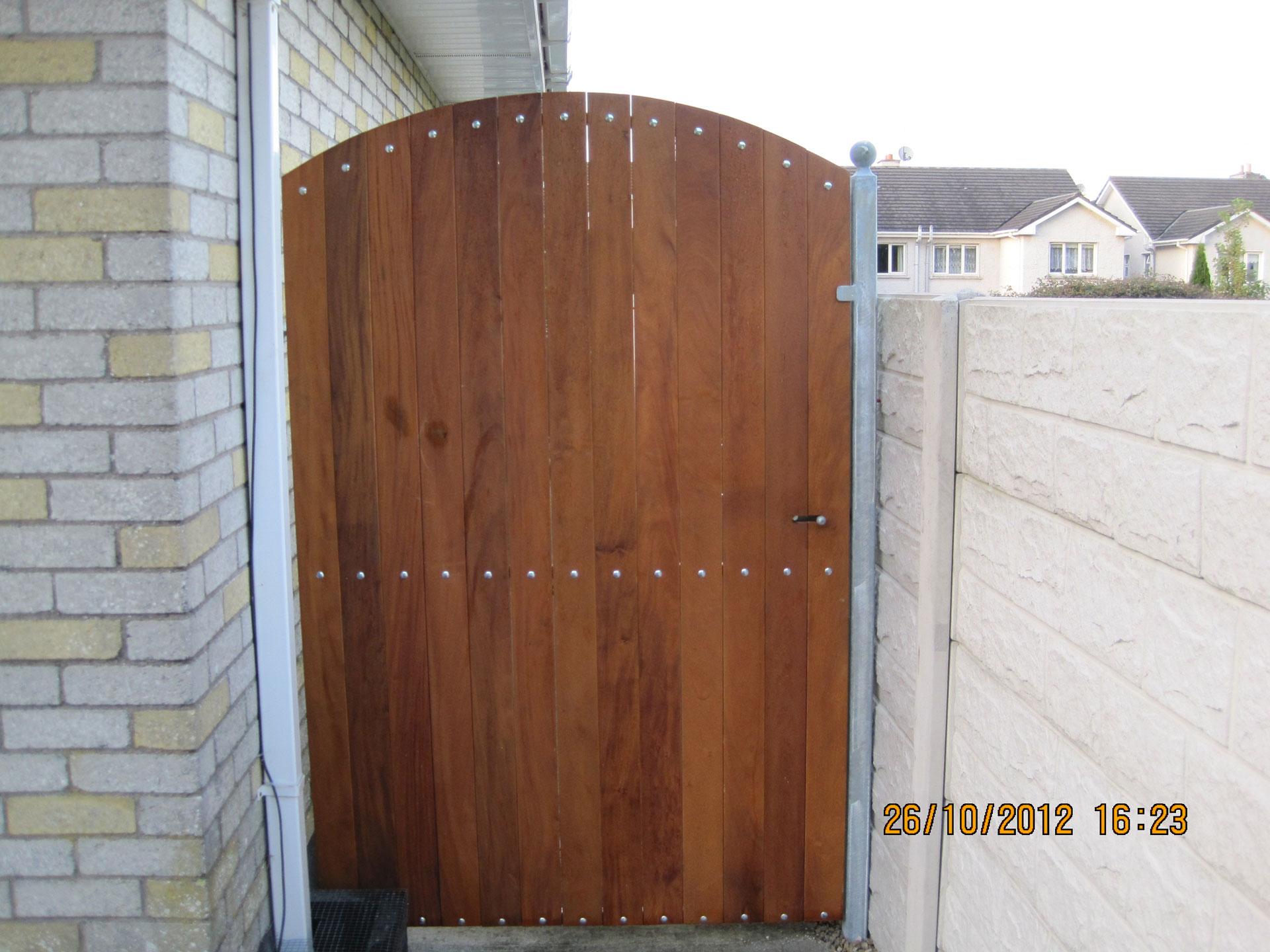 Side Teak gates TSG-10