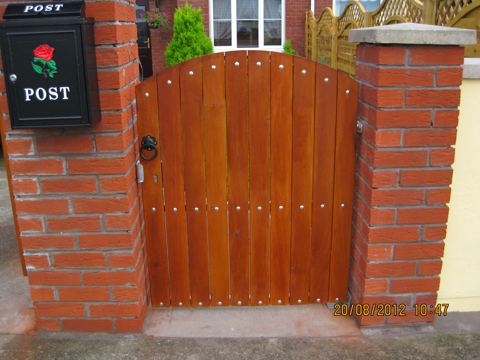 Side Teak gates TSG-1