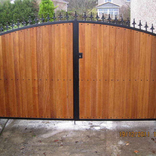 Side Teak gates TSG-5