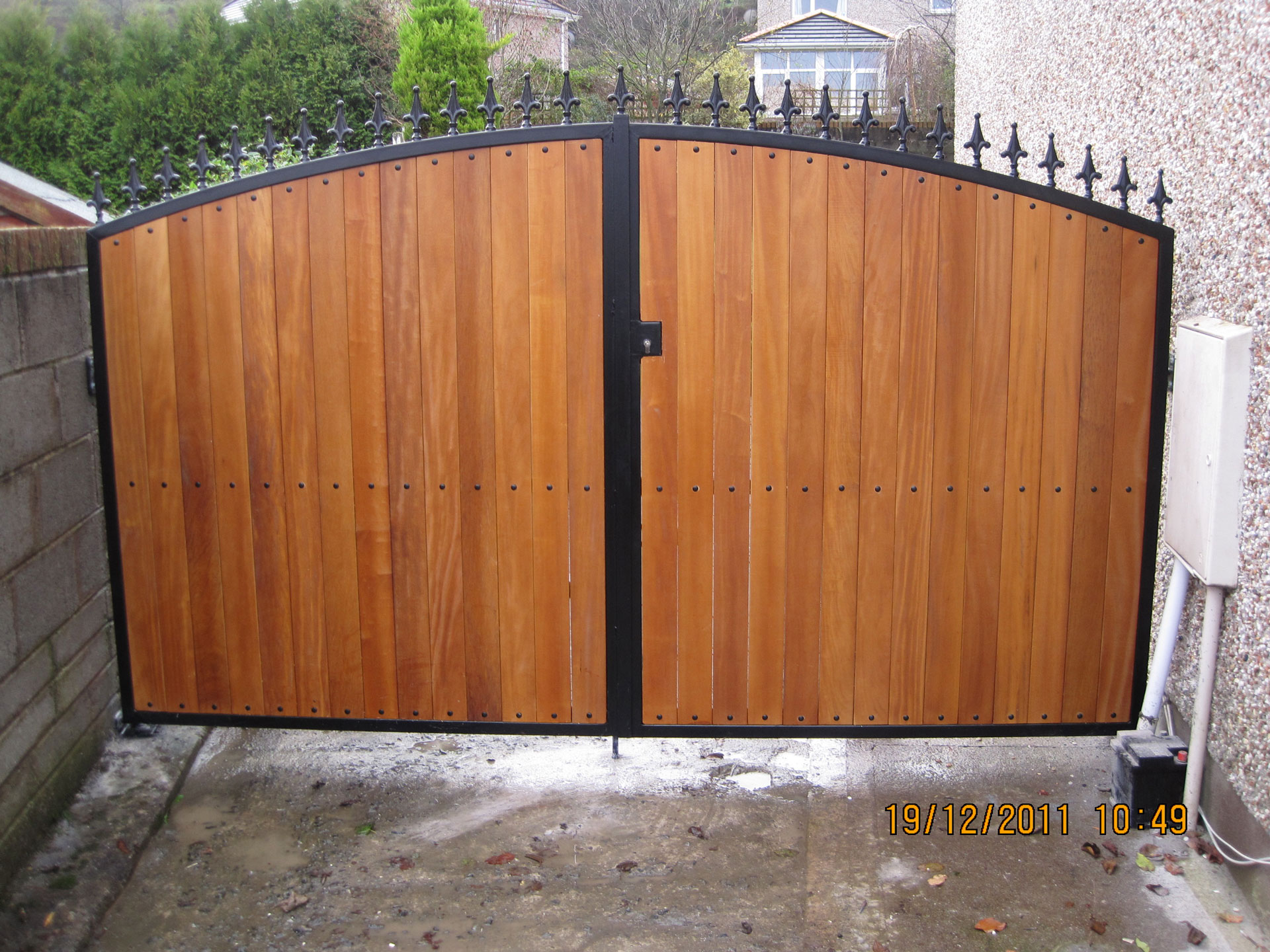 Teak gates 5