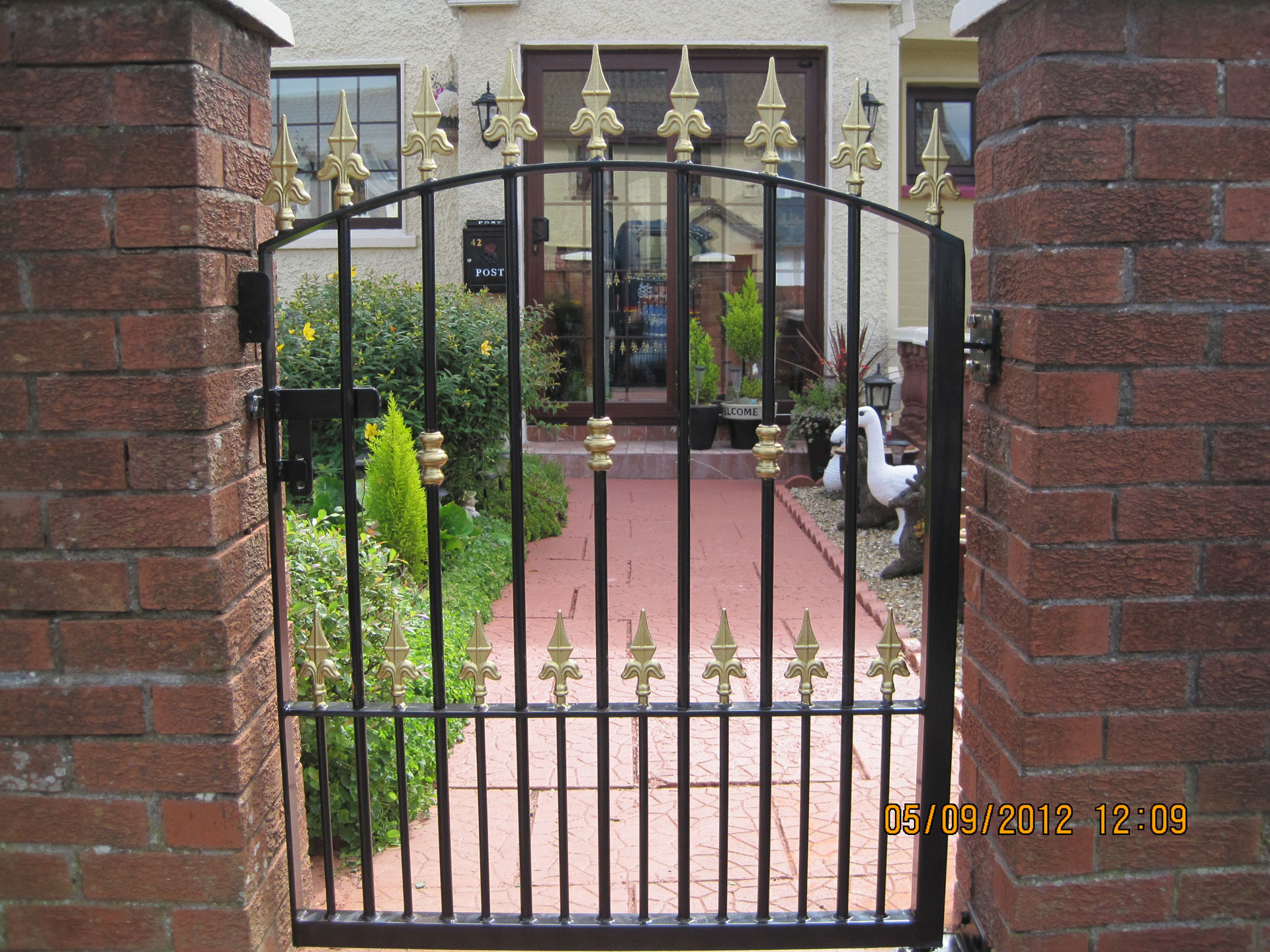 Wrought Iron Gates 8