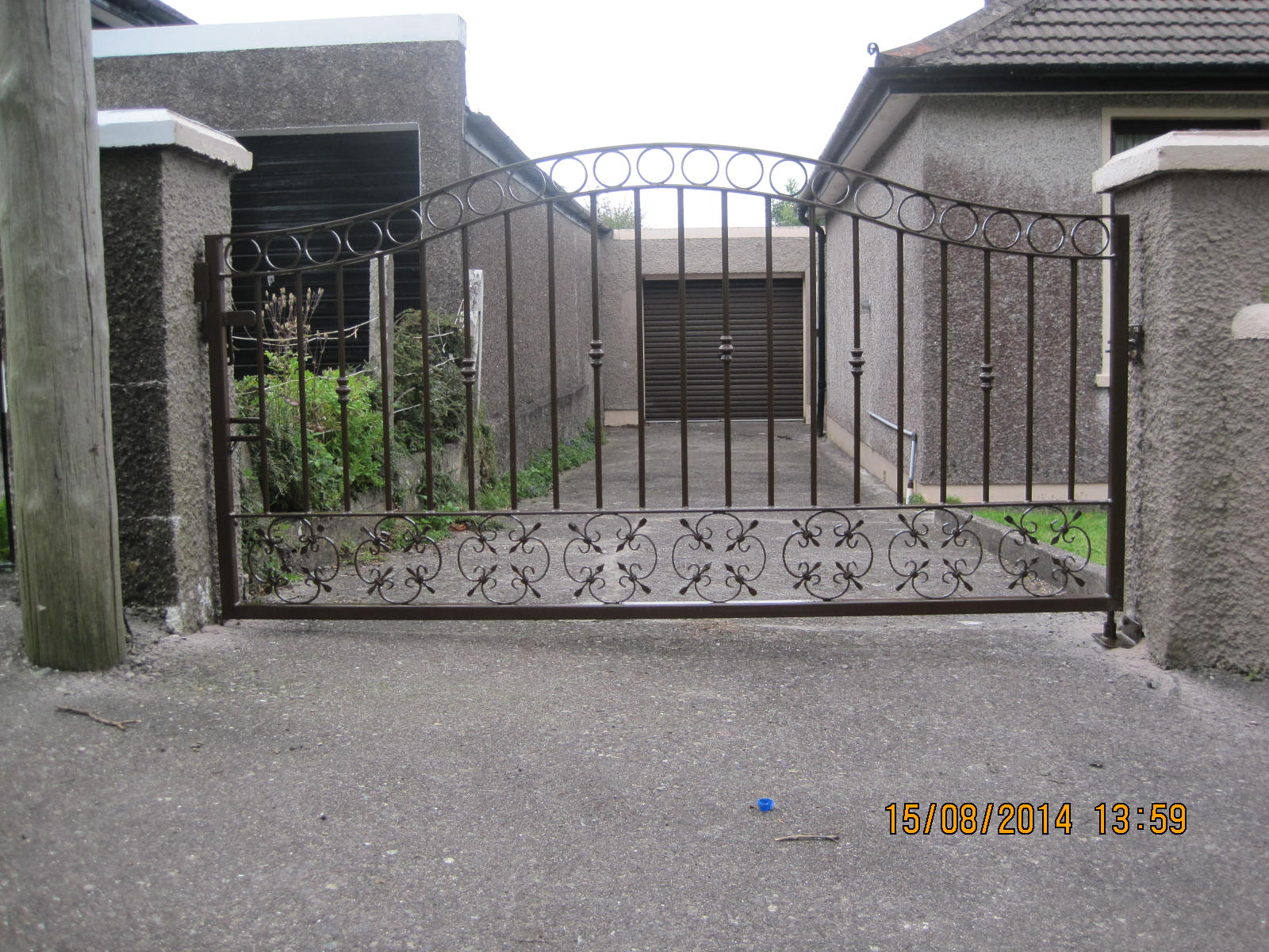 Wrought Iron Gate WISG-1