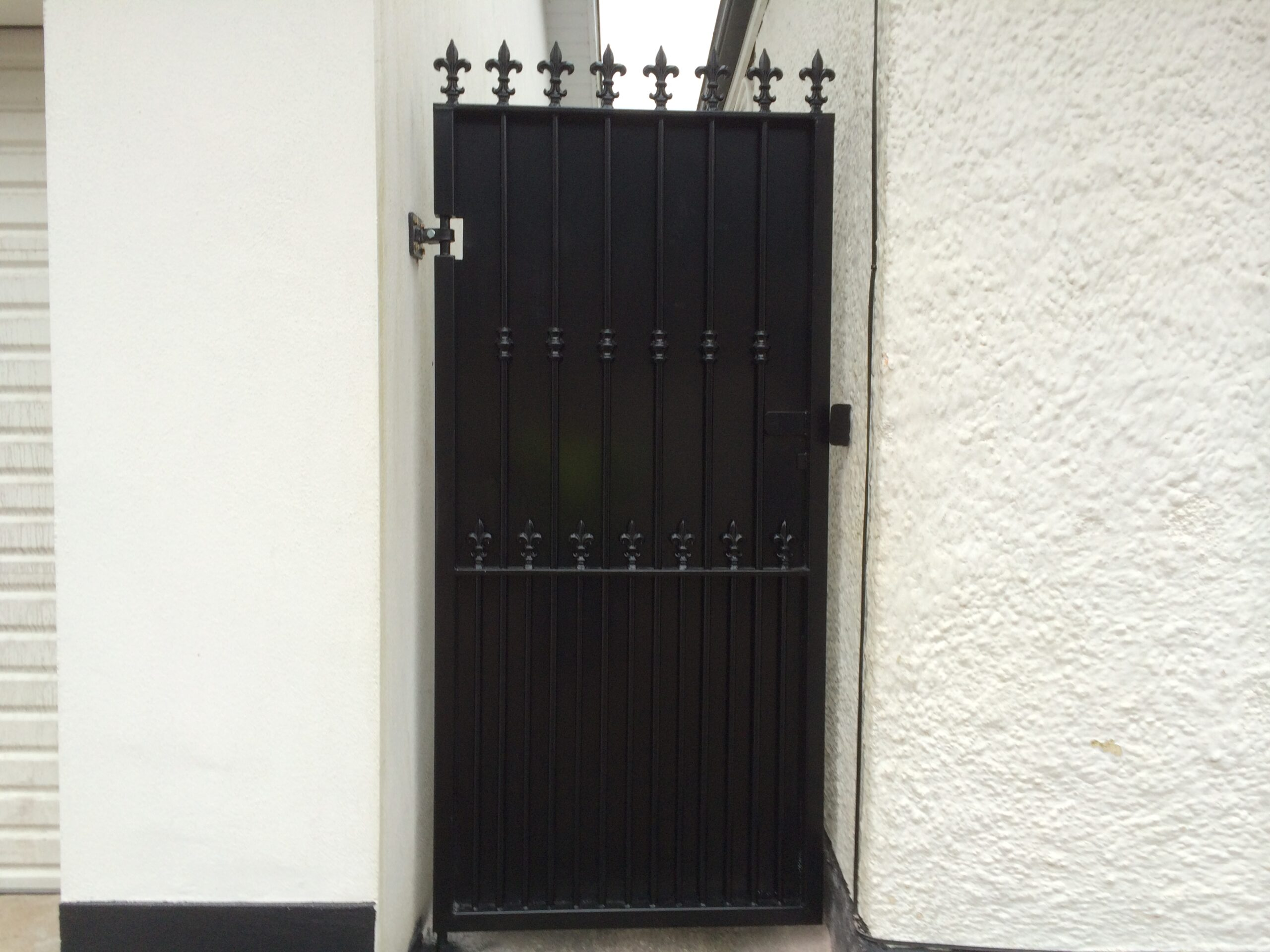 Wrought Iron Side Gate. WISG-20
